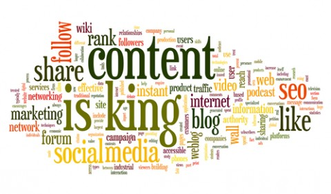content-is-king-collage